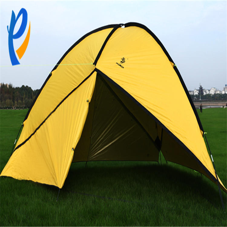 4 to 10 persons large commercial pop up triangular canopy tent family camping outdoor tent