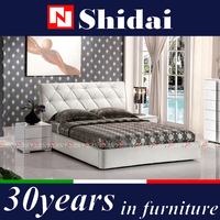 italian bed sizes / companion bed / queen bed set B9019