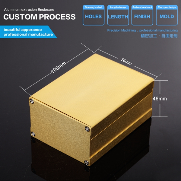 YGS-004-76*46*120mm electric converters aluminum truck tool boxes manufacturers