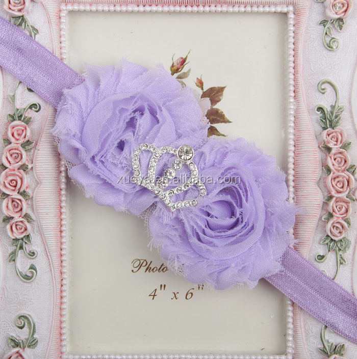 Latest lace baby wholesale hair accessories