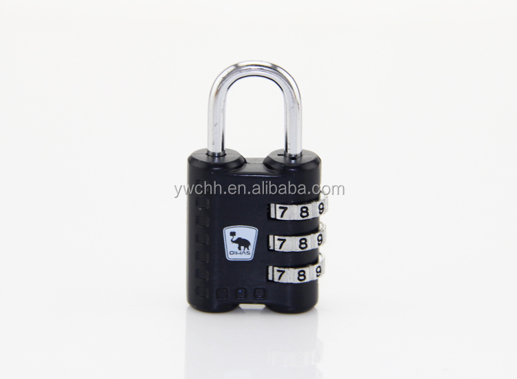 Travel time luggage lock Digital resettable travel lock safe