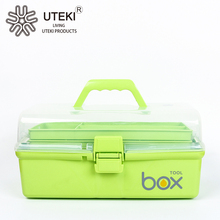 China Supplier plastic drawer storage tool box with lock