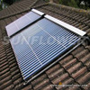 Evacuated tubes solar water heater collector