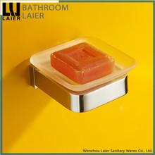 No.85139 Hotel Decorative Bathroom Brass Chrome Finishing Wall-Mounted Bathroom Accessory Soap Dish