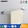 Wall mounted chrome finishing bathroom brass material glass shower door towel bars
