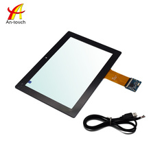 Hot Selling Custom 10.1 Inch LCD 1280x800 Capacitive Multi Touchscreen Panel Support USB / IIC / RS232 Interface