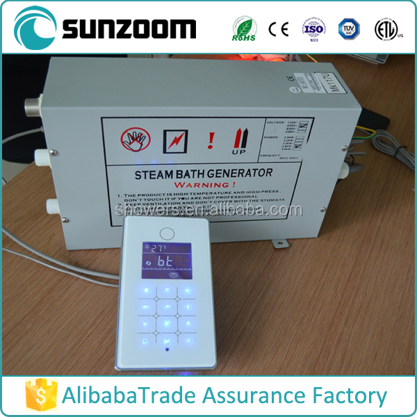 9kw GS08-117U white panel china supplier for steam engine