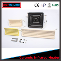 High power far infrared ceramic heating element
