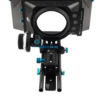 Fotga DP3000 QR follow focus for DSLR + 15mm rod rail baseplate + M1 matte box