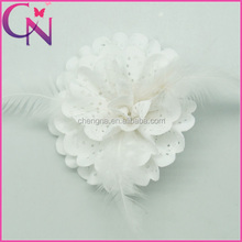 Hair Bows Of Headpiece Hair Pins Feather Hat Ornament CNHB-1309207-3