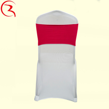 Factory directly sell cheap organza wedding chair sash
