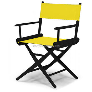 World Famous Dining Height Director Chair Black