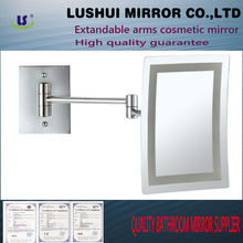 bathroom 7x magnification LED wall makeup lighted hercules mirrors