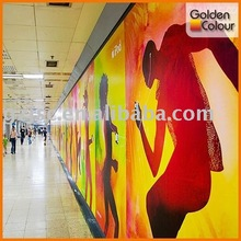 2012 Hot sale indoor decoration banner printing service by manufacturer