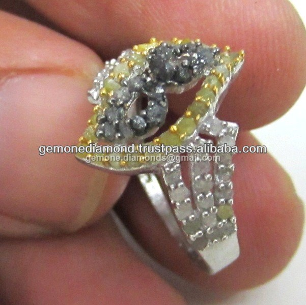 Uncut Diamonds Wedding Rings Manufacturer In India