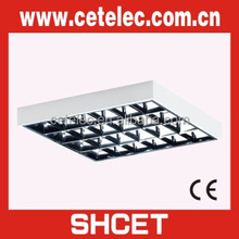 600X600 Surface mounted t8 grid fluorescent ceiling light fixture