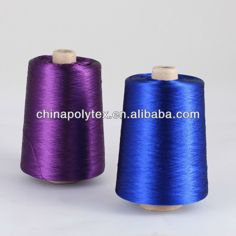 dyed viscose rayon filament yarn