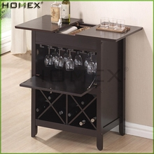 Modern Dry Bar and Wine Cabinet/Wooden Wine Rack/Homex_BSCI