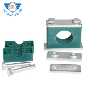 High Quality Single/ double Holes Hydraulic Plastic Pipe/Tube/Hose Clamps
