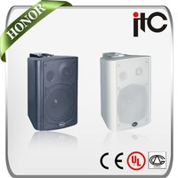 ITC T-776A Paried 25W x2 Class AB 8 ohms Active PA Loudspeaker Box
