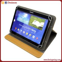 2018 9 inch 10 inch universal high quality premium leather tablet pc case for samsung , for ipad