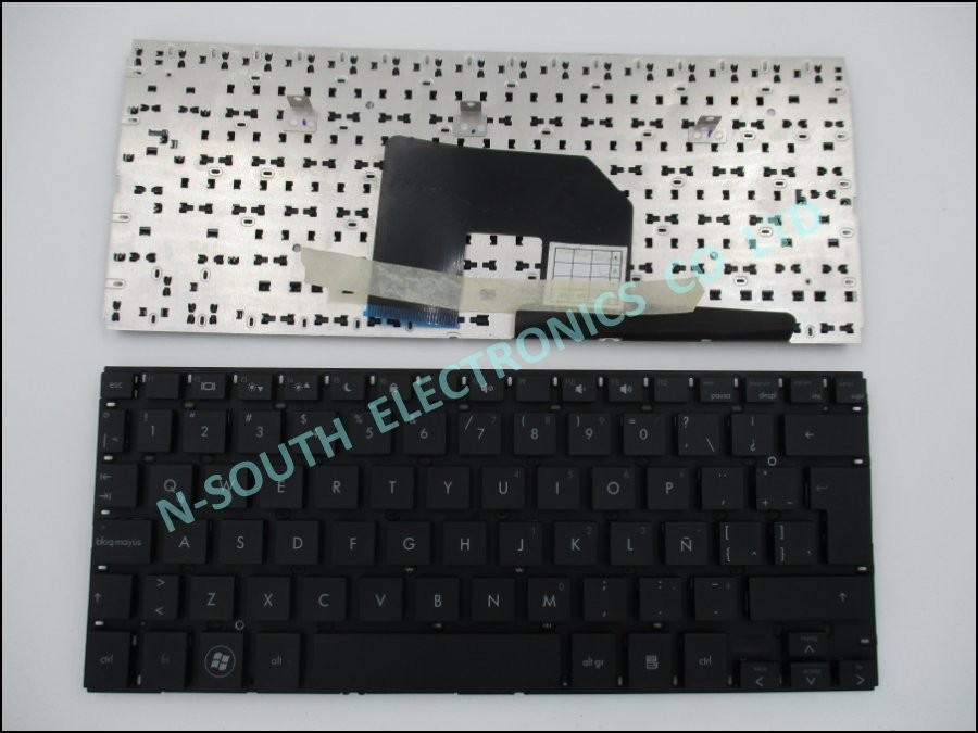 Genuine new laptop keyboard for hp mini 2150 5100 5101 5102 5103 latin Black