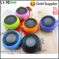 4 Colors Portable pocket Mini Hamburger Speaker for iPhone iPad iPod Laptop PC MP3 Audio Amplifier Wholesale