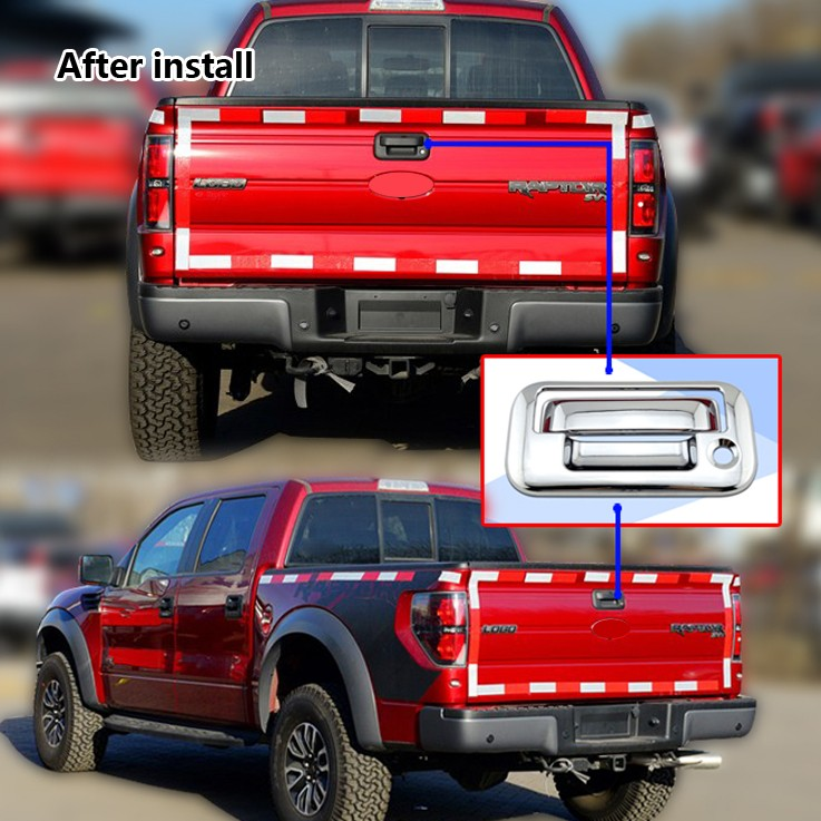 Chrome Car Exterior Accessories For 2014 Ford F 150 Tail Gate Cover Buy Car Exterior