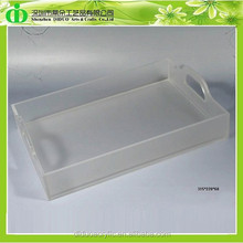 DDY-0053 Trade Assurance Alibaba China Supplier Wholesale Acrylic Bathroom Amenity Tray