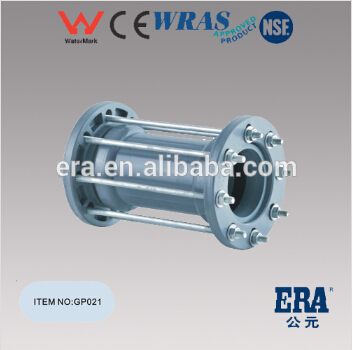 ERA pvc pressure fittings with rubber ring PVC gasket fitting repairing joint