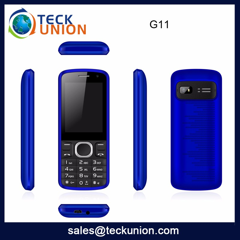 G11 Cheapest Price China Mobile Phone Handset Hot Sale South America Feature Bar Phone Good Quality