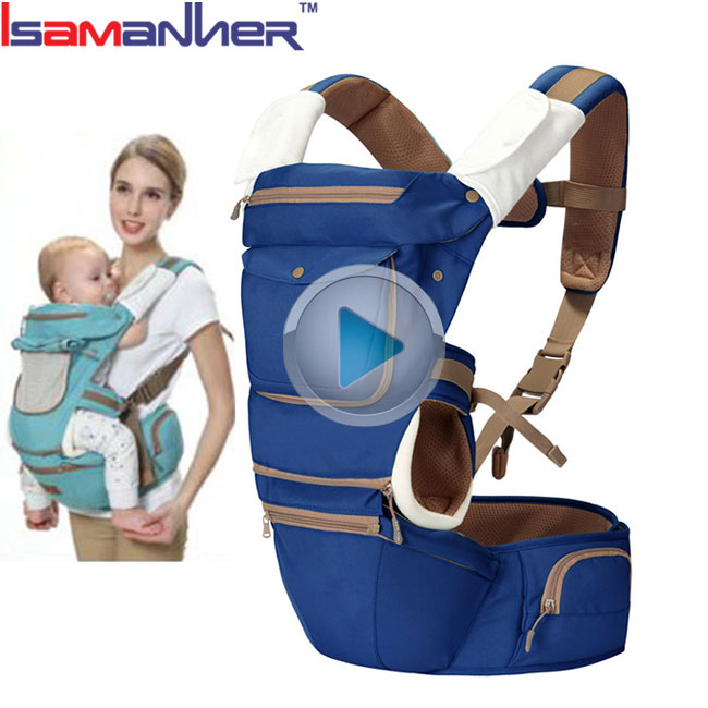 100% polyester baby wrap backpack travelling waterproof baby hip seat carrier