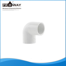 Hot Sale Whirlpool parts Seamless 90 Degree Plastic Elbow