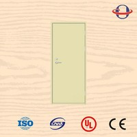 2 leaf qualified ul listed fire door push bar