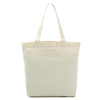 Environmental Pure Color Cotton Canvas Hand Tote Bag