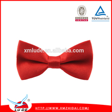 Fashion adjustable cliped ribbon bow tie for young people