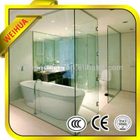 Hot offer dual penals over-bath shower screen for sale with CE/CCC/SGS/ISO