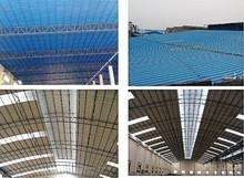 UPVC/APVC/FPR Transparent Roofing Tiles Plastic Roofing Sheets