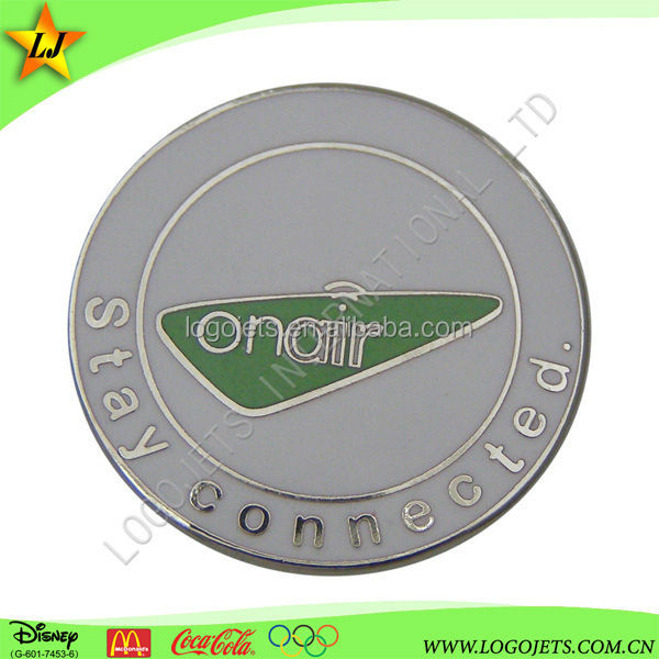 wholesale custom design metal pin/ label pin/plaque for sports