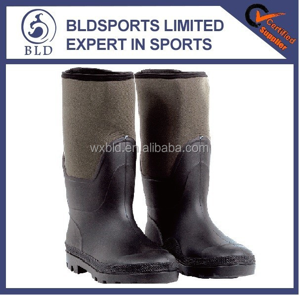 2015 High Quality Waterproof and warmly Neoprene fishing boots