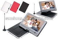 Portable DVD movie player with fm TV game player