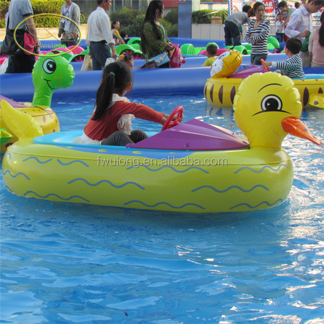 Animal Shape Kids Electric Bumper Boat Amusement Park Inflatable Boats For Swimming Pool Buy