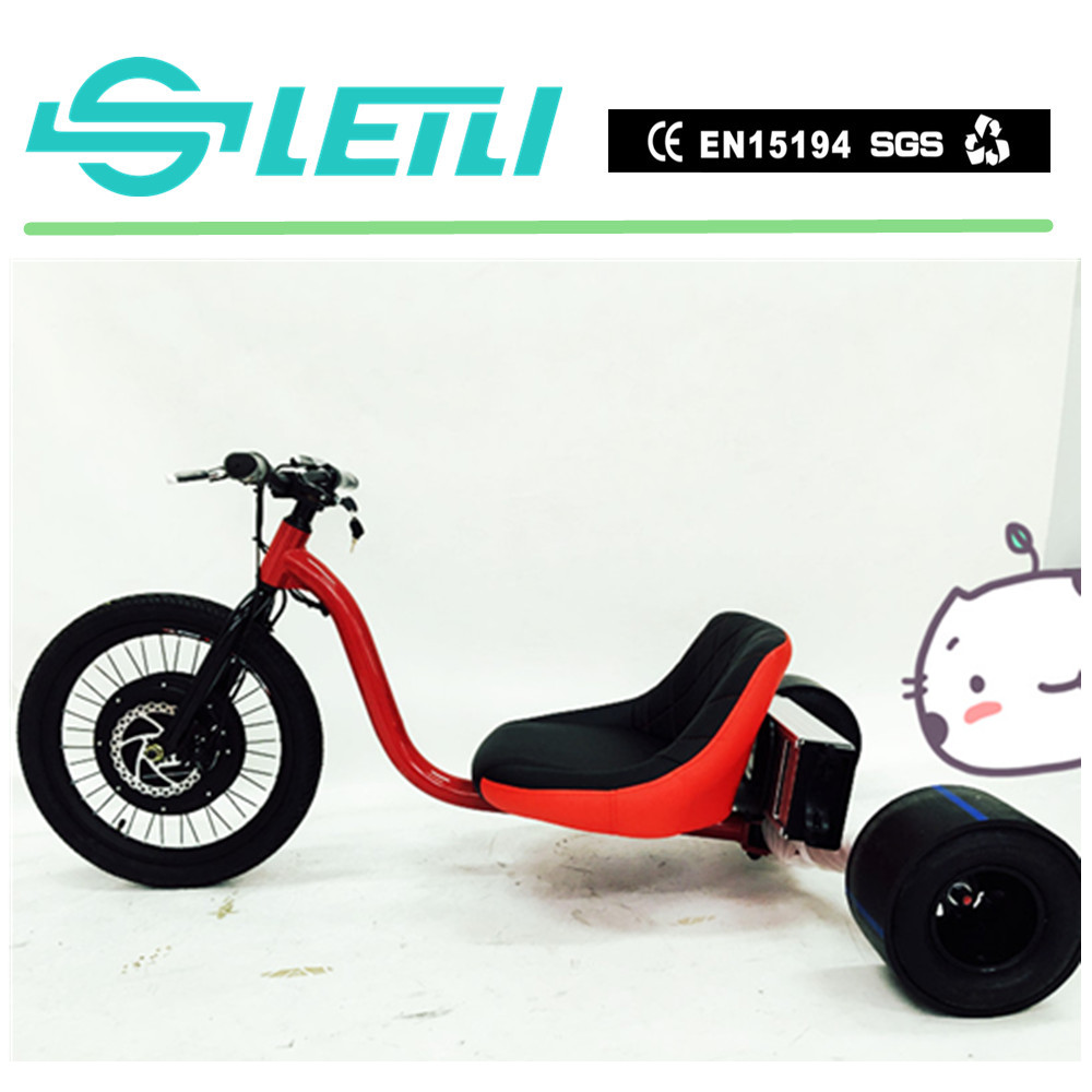 factory price 3 wheel reverse trike 1500w electric tricycle motorcycle,with 20'' front motor wheel