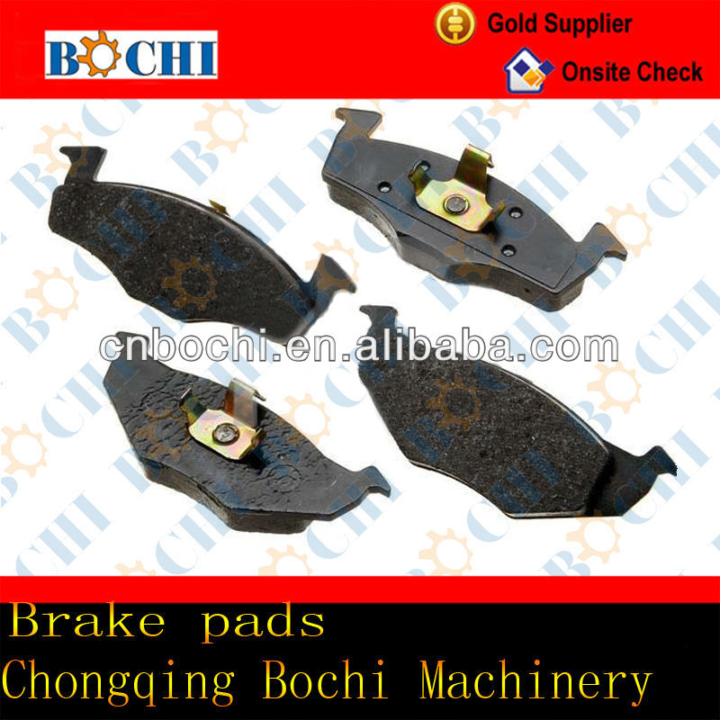 China hot sale cheap high performance semi-metal ceramic truck brake pad for mercedes benz