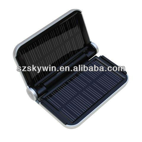 ABS Portable Solar phone Chargers for iphone5s 2014