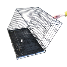 Customized outdoor portable stainless steel dog cage