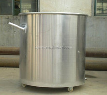 Stainless steel heated mixing tank, pot