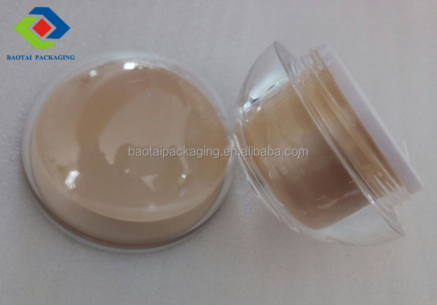 30g acrylic cosmetic hand cream jars cosmetic packaging box