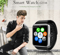 China supplier smartwatch gt08 mobile watch phones