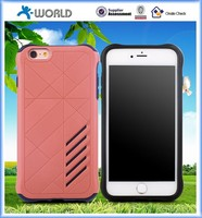 TPU pc 2 in 1 smooth plastic strong protect phone case for iphone 6/6s